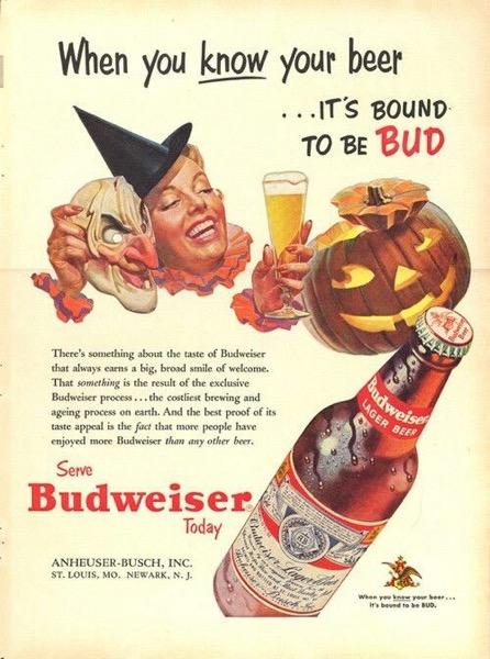 Budweiser Halloween 2020 Halloween 2020   47 In A Series   Budweiser Halloween Ad   My Word